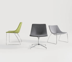 Wize office Chairs Curve Project Meubilair