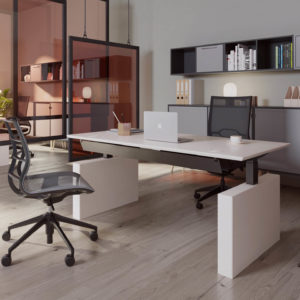 Dencon Box Panel Desk Project Meubilair