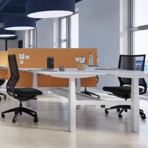 Dencon Delta Double Desk Project Meubilair