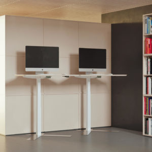 Dencon Single Column Desk Project Meubilair
